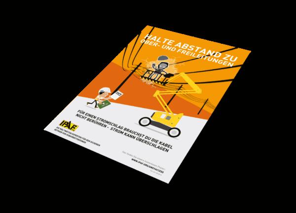 """Kampagnen """"Andy Access"""" Download Deutsch """"Halte Abstand zu Ober- und Freileitungen"""""""