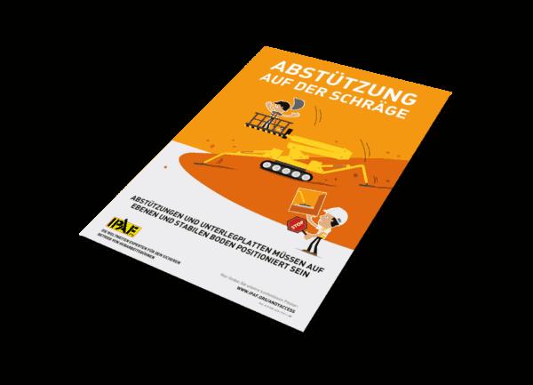 """Kampagnen """"Andy Access"""" Download Deutsch """"Abstützung auf der Schräge"""""""