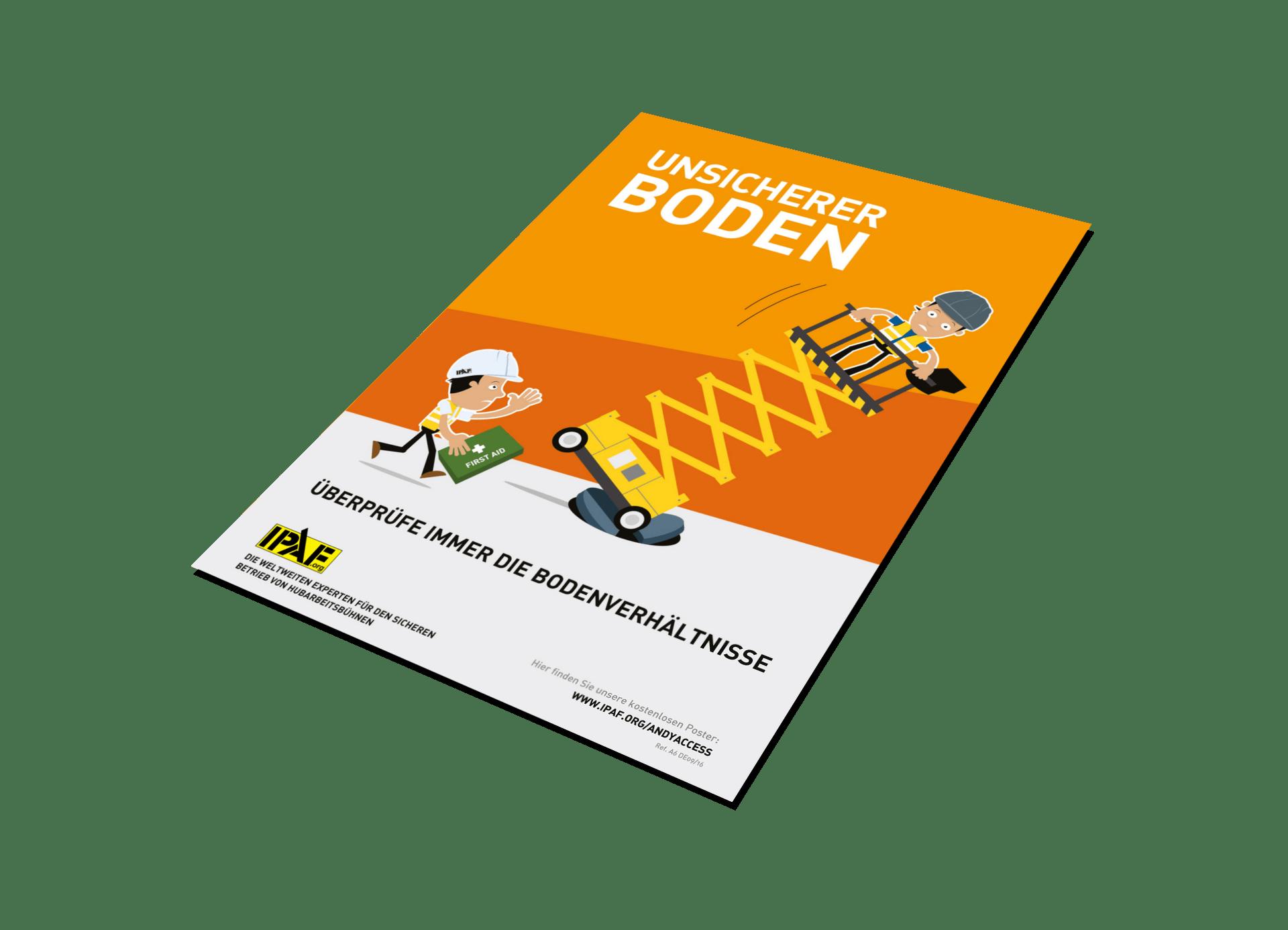 """Kampagnen """"Andy Access"""" Download Deutsch """"Unsicherer Boden"""""""