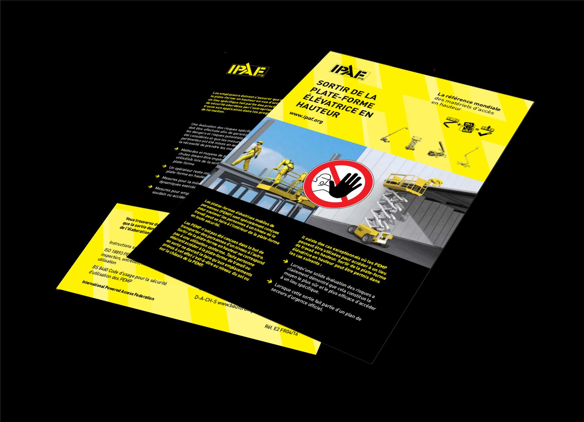 Technische Anleitungen Ausstieg aus dem angehobenen Arbeitskorb Download Italienisch - Ausstieg aus dem angehobenen Arbeitskorb
