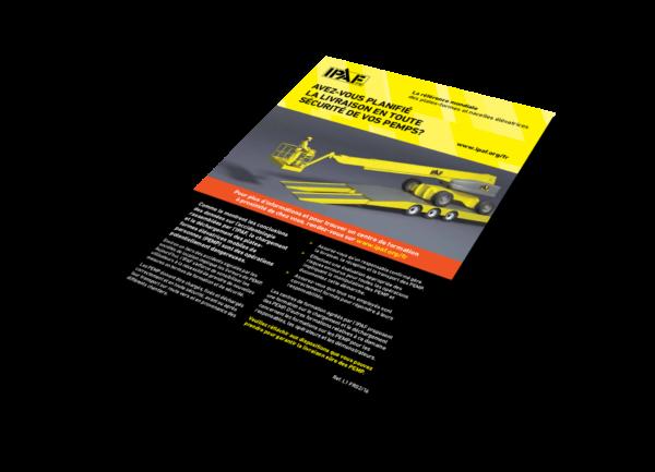 Technische Anleitungen Das Auf- und Abladen mobiler Hubarbeitsbühnen Download Französisch - Das Auf- und Abladen mobiler Hubarbeitsbühnen