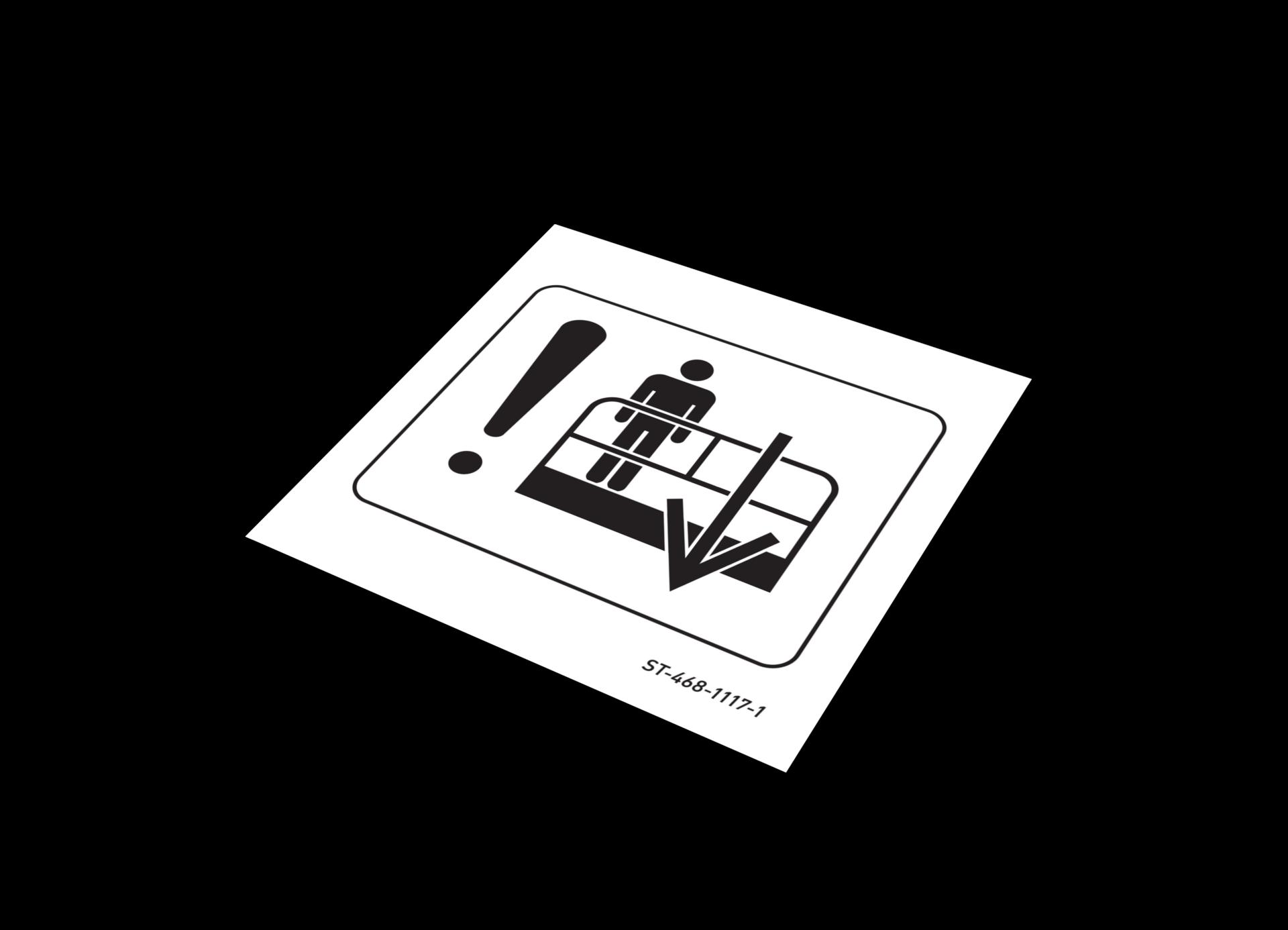 Sticker Notsenkung Sticker - Notsenkung